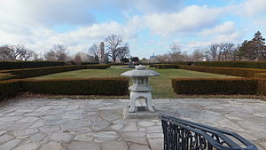 Belle Isle Conservatory - Image: The Henry A. Johnson Memorial Gardens 2013
