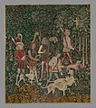 The Hunters Enter the Woods (from the Unicorn Tapestries) MET DP118981.jpg