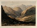 The Khyber Pass with the fortress of Alimusjid, Pakistan. Ch Wellcome V0050526.jpg
