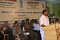 The MLA, Ariyalur, Shri D. Amaramoorthy delivering the special address at the Bharat Nirman Public Information Campaign, at Ariyalur, Tamil Nadu on October 07, 2010.jpg