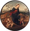 The Madonna and Child with the Infant Saint John the Baptist, Tondo from the Gallarati Scotti collection, Milan.jpg