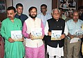 The Minister of State for Environment, Forest and Climate Change (Independent Charge), Shri Prakash Javadekar releasing the Book 'Birds of Sultanpur', at the Jataya Conservation Breeding Centre, Pinjore, in Haryana.jpg