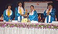 The Minister of State for Human Resource Development, Smt. D. Purandeswari at the 5th Convocation of SYMBIOSIS International University, at Pune on January 04, 2009.jpg