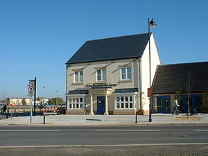 Cambourne - The Monkfield Arms, the village's pub