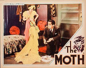 The Moth (1934 film) - Lobby card