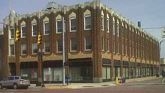 Flint, Michigan - The Paterson Building, 653 S. Saginaw St. Flint MI