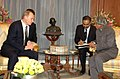 The President of the Russian Federation, Mr. Vladimir V.Putin calls on the President, Dr. A.P.J. Abdul Kalam, in New Delhi on January 25, 2007.jpg