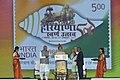 The Prime Minister, Shri Narendra Modi releasing the commemorative postal stamps to mark Haryana Swarna Jayanti Celebrations, in Gurugram, Haryana.jpg