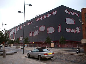The Public, West Bromwich - View from the north west
