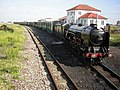 The Romney, Hythe and Dymchurch Railway at Dungeness - geograph.org.uk - 1291284.jpg