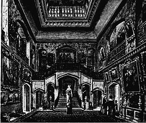 13 Kensington Palace Gardens - The Saloon, 1870