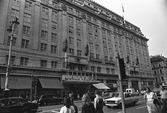 Strand Palace Hotel - The Strand Palace hotel photographed on 25 August 1981
