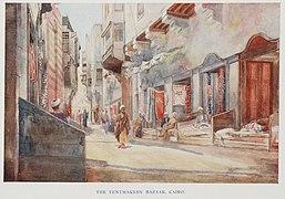The Tentmakers' Bazaar, Cairo. (1907) - TIMEA