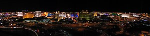 The Las Vegas Strip seen from the top of the R...