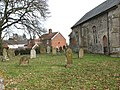 The church of St Peter in Needham - churchyard - geograph.org.uk - 1771170.jpg