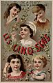 The five senses represented by five children. Chromolithogra Wellcome L0027362.jpg