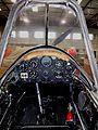 The front cockpit of the De Havilland Chipmunk Trainer (12119159524).jpg