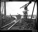 The launch of HMAS ALBATROSS I at Cockatoo Island Dockyard (8365338487).jpg