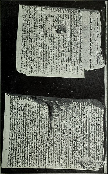 Babylonian Tablets With Magical Incantations