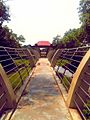 The way to the observatory tower overlooking the crocodile enclosures.jpg
