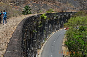 Thenmala Rail Bridge.JPG