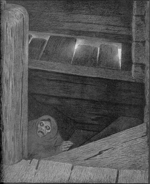 Fil:Theodor Kittelsen - Pesta i trappen, 1896 (Pesta on the Stairs).jpg