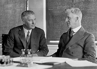 Ted Theodore - Theodore with Prime Minister James Scullin in December 1929.