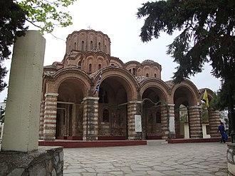 Church of Prophet Elijah (Thessaloniki) - Entrance