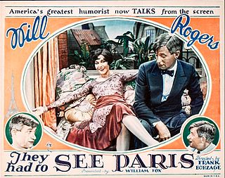 <i>They Had to See Paris</i> 1929 film