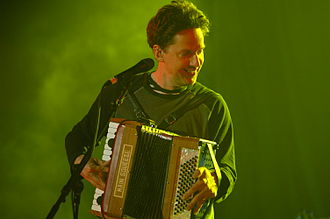 John Linnell - Linnell performing with They Might Be Giants in Fort Lauderdale on March 12, 2008