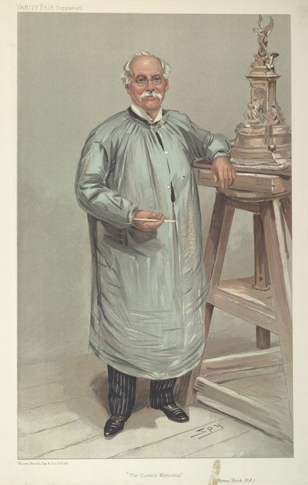 Thomas Brock, Vanity Fair, 1905-09-21