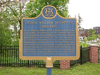 Thomas William Holmes - Image: Thomas Holmes plaque