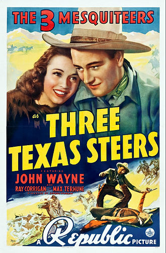 Three Texas Steers - Theatrical poster