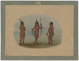 Three Young Tobos Men