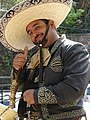Thumbs Up from Rider in Religious Procession - Guanajuato - Mexico (27342588359).jpg