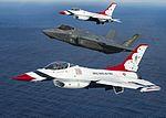 Thunderbirds fly with the F-35A Lightning II 160505-F-HA566-311.jpg