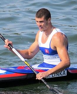 Tibor Linka Slovak sprint canoer