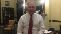 File:Tim Kaine I object to the Senate leaving town while hundreds of thousands of federal em....webm