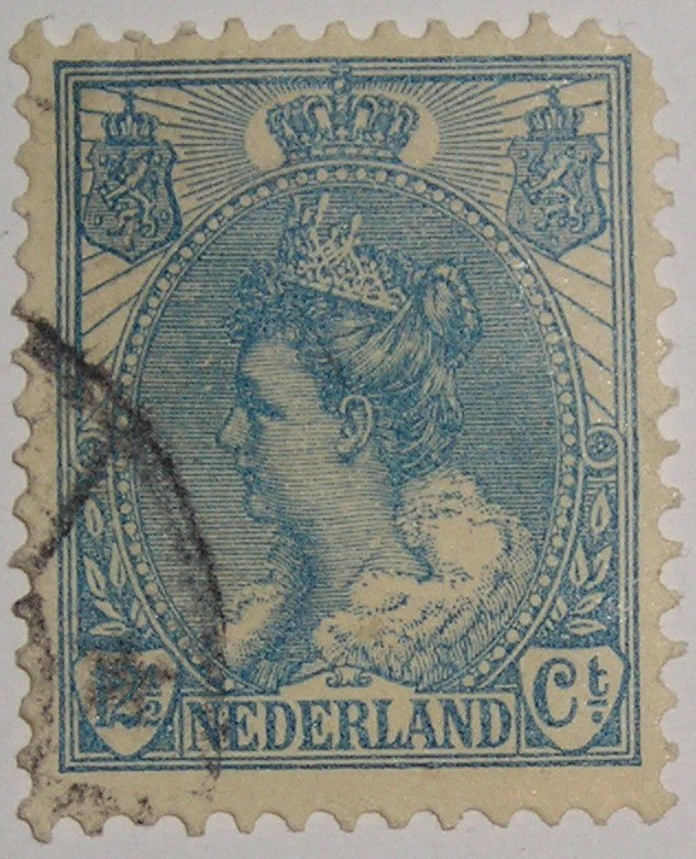 Timbre PaysBas Wilhelmine 1898-1923