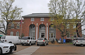 Ripley, Mississippi - Tippah County Courthouse