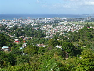 Belmont, Port of Spain District of Port of Spain in Saint George County, Trinidad and Tobago