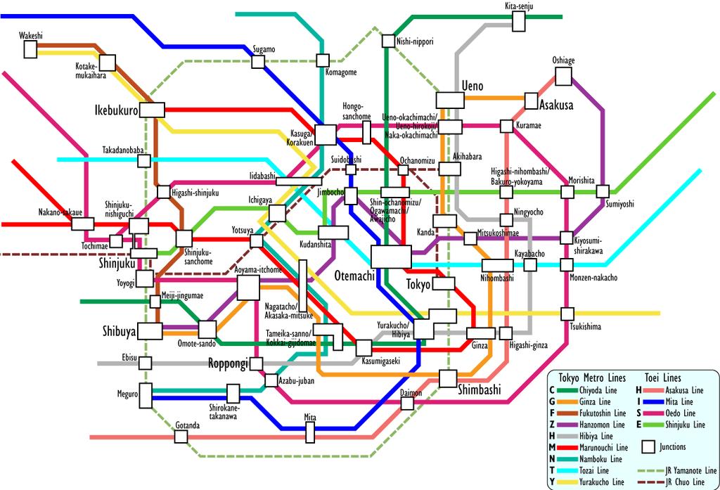 Kawasaki Station To Shibuya Station