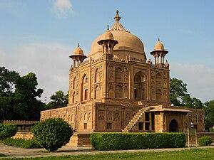 Khusro Bagh - Image: Tomb of Nisar Begum at Khusro Bagh Allahabad