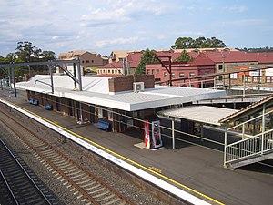Toongabbie - Toongabbie railway station