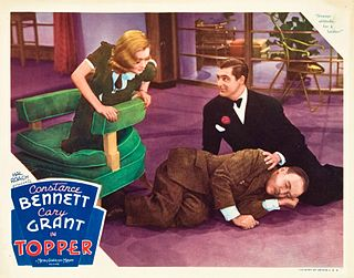 <i>Topper</i> (film) 1937 film by Norman Z. McLeod