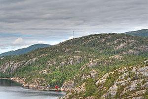 Nærøy - Image: Torfjellet