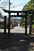 Torii and level crossing.JPG