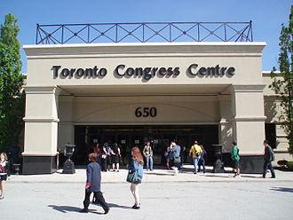 Toronto Congress Centre - Main entrance of the Toronto Congress Centre