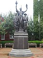 Toronto World War I Monument, comprehensive closeup.jpg