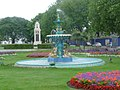 Torquay, fountain and war memorial - geograph.org.uk - 1467116.jpg